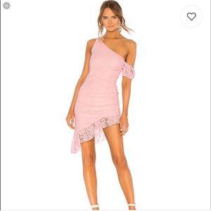 Majorelle Pink Lace Dress size M